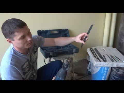 Как работать сабельной пилой
