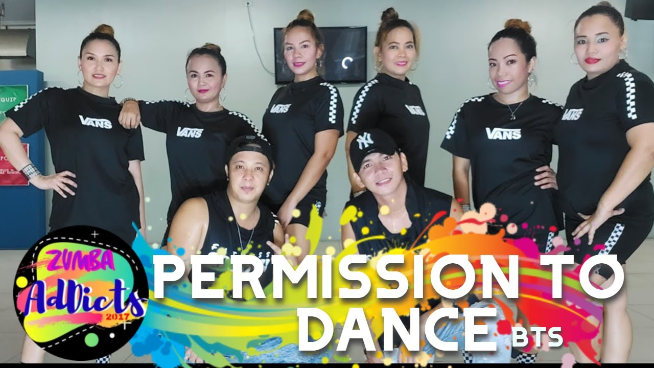 PERMISSION TO DANCE by BTS | ZUMBA | DANCE FITNESS | FITNESS GROOVY X Z ADDICTS