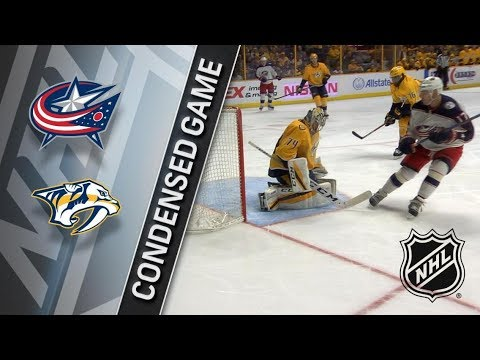 Columbus Blue Jackets vs Nashville Predators apr 7, 2018 HIGHLIGHTS HD
