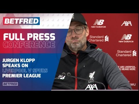 FULL Press Conference - Liverpool 2-1 Tottenham - Jurgen Klopp