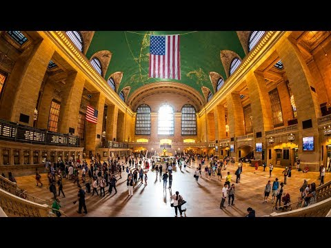 Walking Tour of Grand Central Terminal — New York City 【4K】🇺🇸