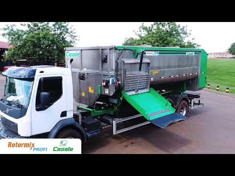 Rotormix Profi, misturador de ração total   Casale Brasil
