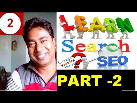 Learn SEO - Search Engine Optimization for Blog/Website !! Tutorial - 2 - 동영상