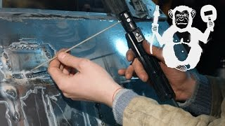 Территория сварки - сварка кузовщины электродом(Так как же восстановить кузов на автомобиле имея в наличии простой аппарат РДС (у нас это Verona 270). Мы расскаже..., 2016-03-03T12:31:23.000Z)