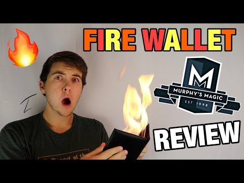 Fire Wallet By Murphy's Magic Supplies - Magic Trick Review