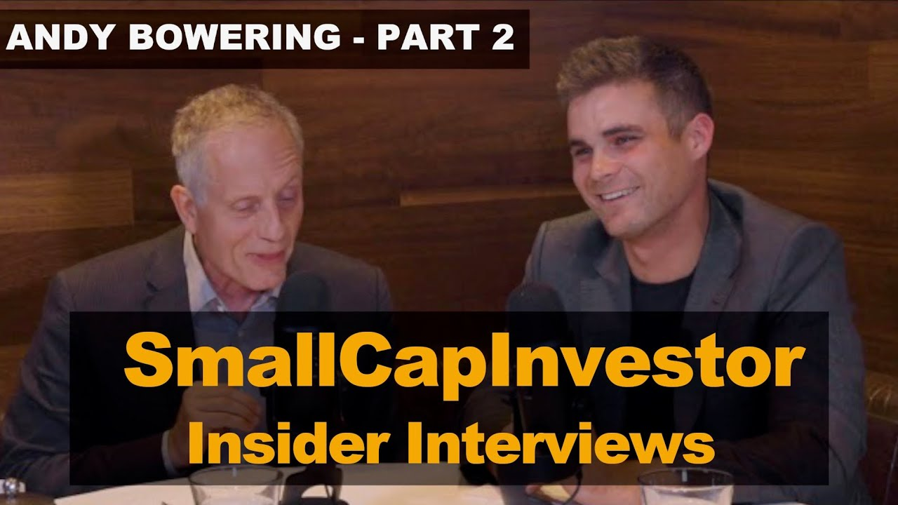 Insider Interview with Andy Bowering (Part 2)
