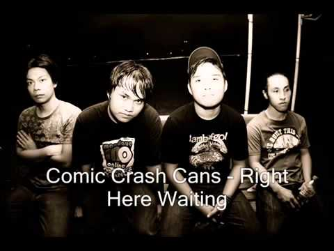 Comic Crash Cans   Right Here Waiting (Punk Cover)