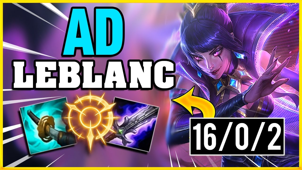 The Best Championship Leblanc Build Ad Leblanc League Of Legends Havix Youtube