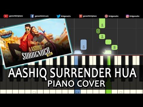 Aashiq Surrender Hua Badrinath Ki Dulhania|Hindi Song|Piano Chords Tutorial Instrumental By Ganesh