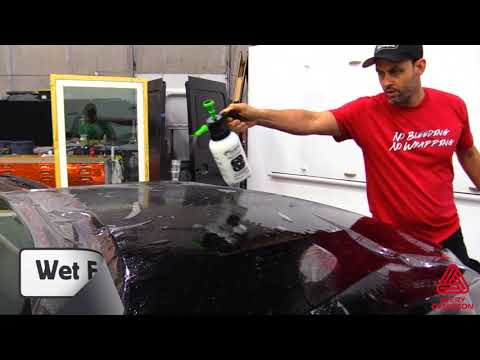 Avery Dennison SPF-XI Paint Protection Film Instructional Video