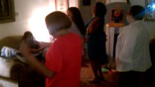 DillzTV:  Right Foot Stomp...  And Left Foot Stomp - 7/16/2011
