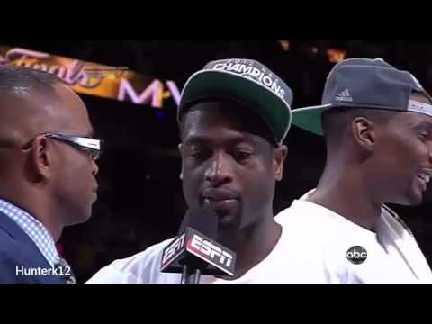 Miami Heat 2012 NBA Champions Trophy presentation