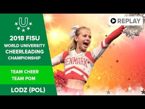 Cheerleading   Day 2   Team Cheer Team Pom   #UniWorlds