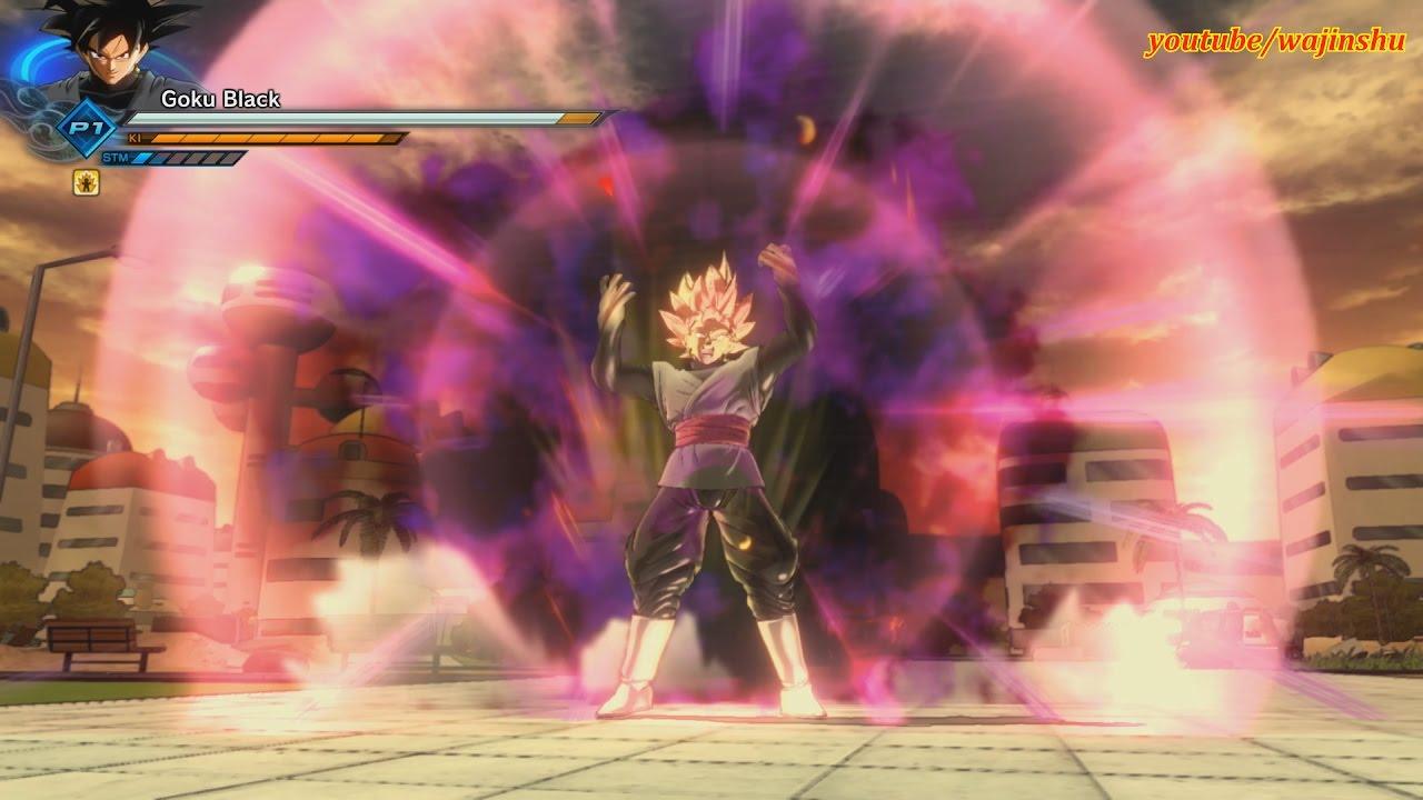 Dragon Ball Xenoverse 2 Pc Mod Super Saiyan Rose Goku Black Vs