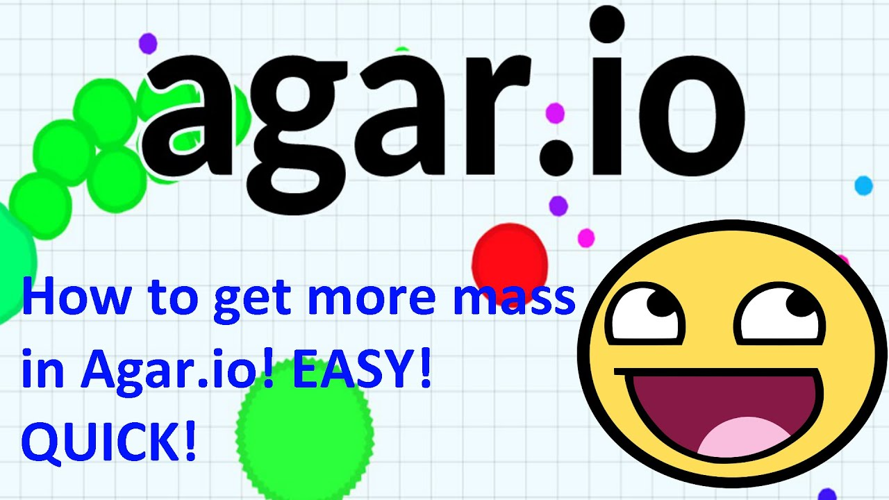 HOW TO GET BIG FAST (Agar.io Mobile) - YouTube