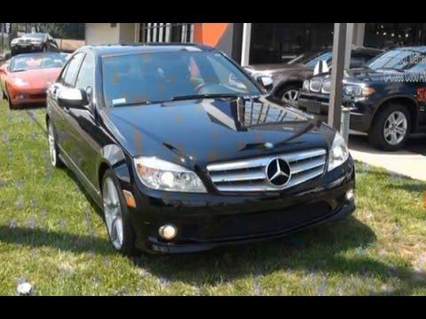 2008 MercedesBenz CClass C350 AMG Sport  YouTube