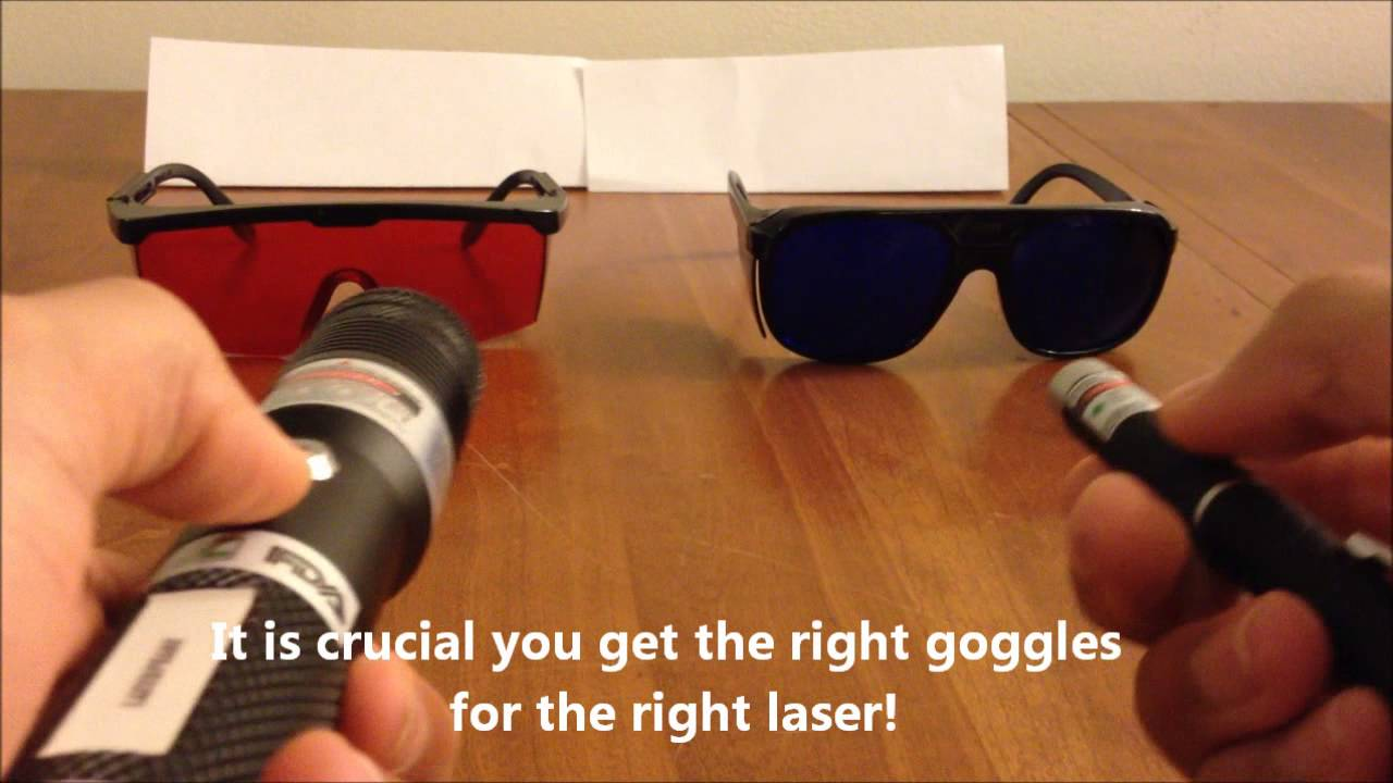 f2a2c8a0003 Choosing Laser Goggles - YouTube
