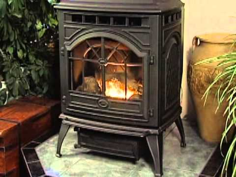 Quadra Fire Castile Pellet Stove Video