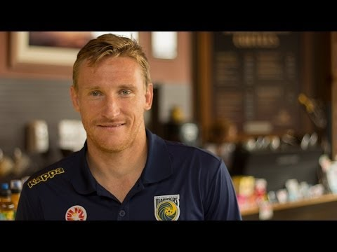 Central Coast Mariners Interview of the Week - Daniel McBreen