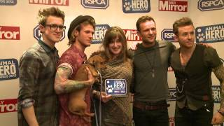 Rspca And Daily Mirror Animal Hero Awards 2013