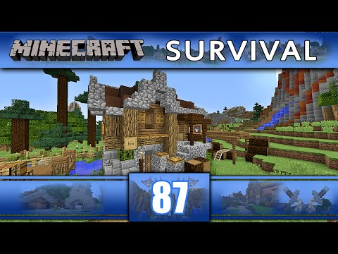 Minecraft Survival with heaveN: ВОДНА РАБОТИЛНИЦА - Епизод #87
