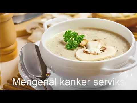 cara mengobati kanker serviks dengan krim sup jamur
