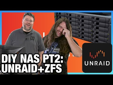 Part 2: DIY AMD NAS with Unraid & ZFS Software Setup, ft. Level1Techs