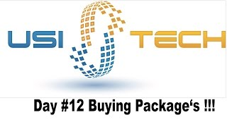 USITech | Long Term Invest | Day #12 | Buy Package | Cryptony