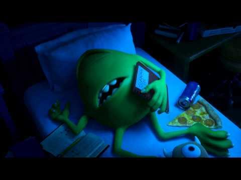 Monsters University (Monsters Inc. 2) Teaser Trailer 2013 ESPAÑOL LATINO