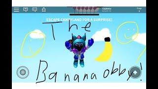 {Random Roblox Recordings(RRR)} Ep.2 | The Banana Obby! | (reupload)