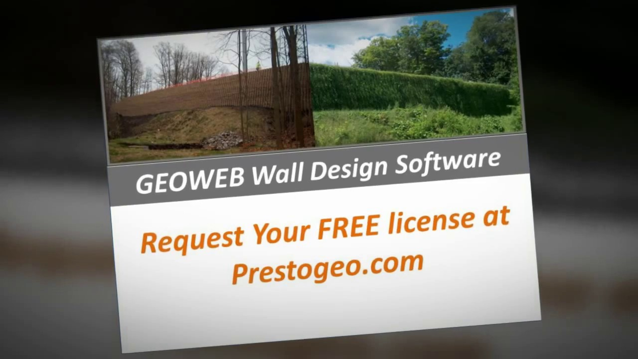 Design GEOWEB® Geocell Walls with MSE Retaining Wall Software