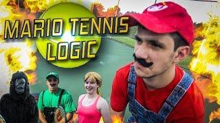 MARIO TENNIS LOGIC IN REAL LIFE