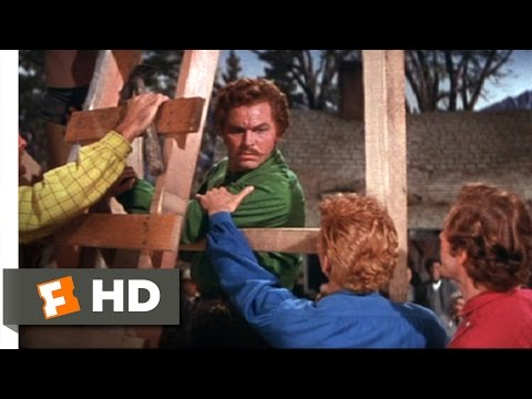 Seven Brides for Seven Brothers 610 Movie CLIP  Barn Raising 1954 HD