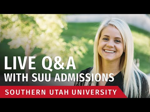 suu-admissions-live-q&a---january-21,-2020