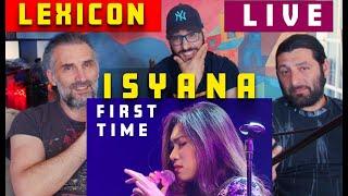 Isyana Sarasvati    LEXICON - live - their first time reaction