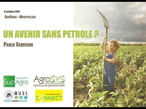 Conférence P. Servigne - Un avenir sans pétrole? / Rediffusion streaming