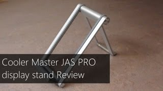 Cooler Master Jas Pro Macbook Pro Display Stand Unboxing & Review (ccreviews)
