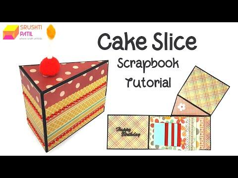 Cake Slice Scrapbook by Srushti Patil