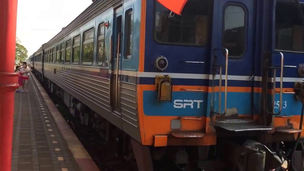 A 2nd Class Thai Train Ride Is Almost 1st Class Surat Thani