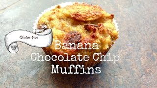 Gluten-free Banana Chocolate Chip Muffins