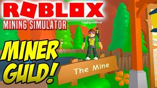 VI MINER GULD! - Roblox Mining Simulator Dansk Ep 1