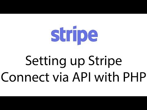 Creating your own marketplace with Stripe Connect & PHP— Like Shopify or Uber.