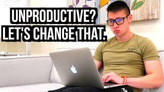 How To Stay Productive While Working/Studying From Home