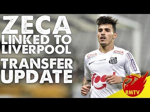 Brazil Left Back Zeca Linked To Liverpool | LFC Daily Transfer News LIVE