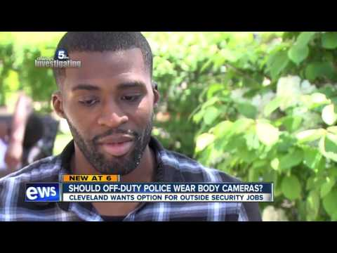 Should off-duty police officers working security be required to wear body cameras?