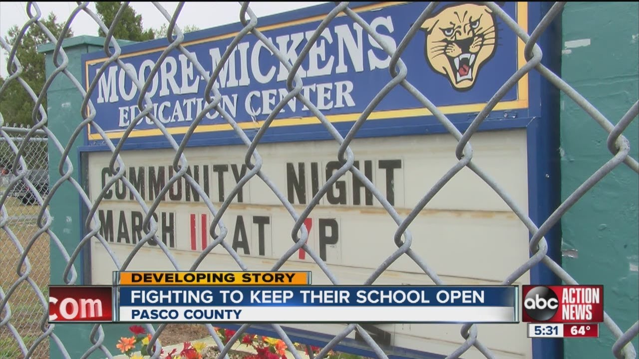 Moore-Mickens Education Center in Pasco County will stay open despite  budget problems