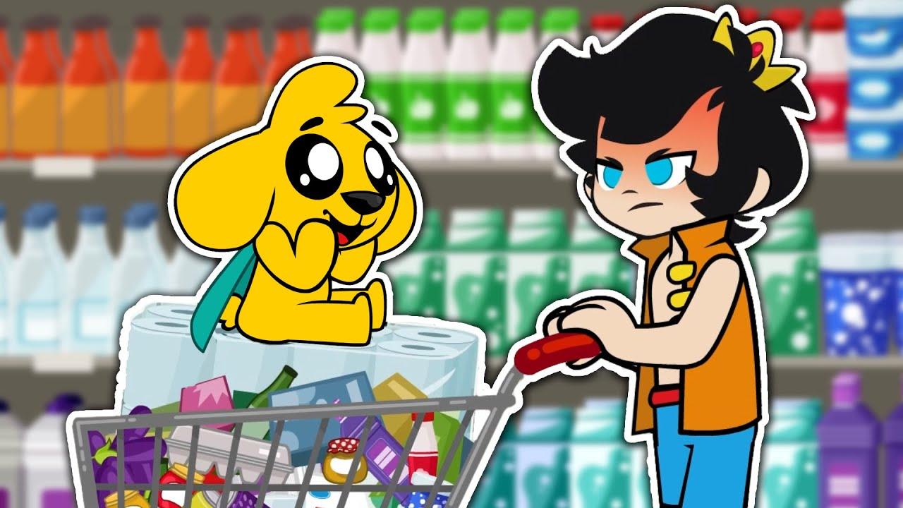 Download ¡DE COMPRAS EN EL SUPERMERCADO! 🛒😁 LAS PERRERÍAS DE MIKE Ep. 1 (Temporada 1)
