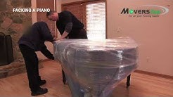 How to Move a Piano | Easy Packing Piano Tips | Piano Moving Techniques | Movers.com