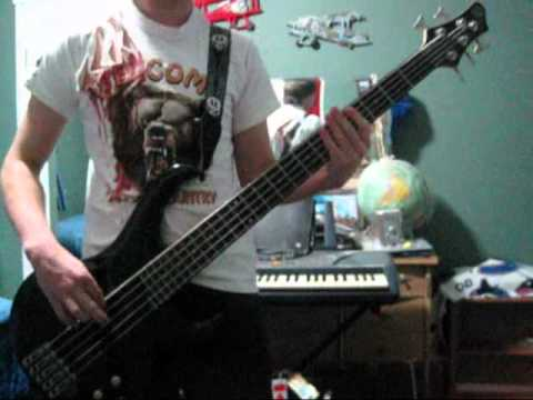Black Veil Brides Rebel Love Song Bass Cover
