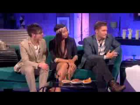 Glee's Matt, Jenna and Kevin interview on Alan Carr Chatty Man